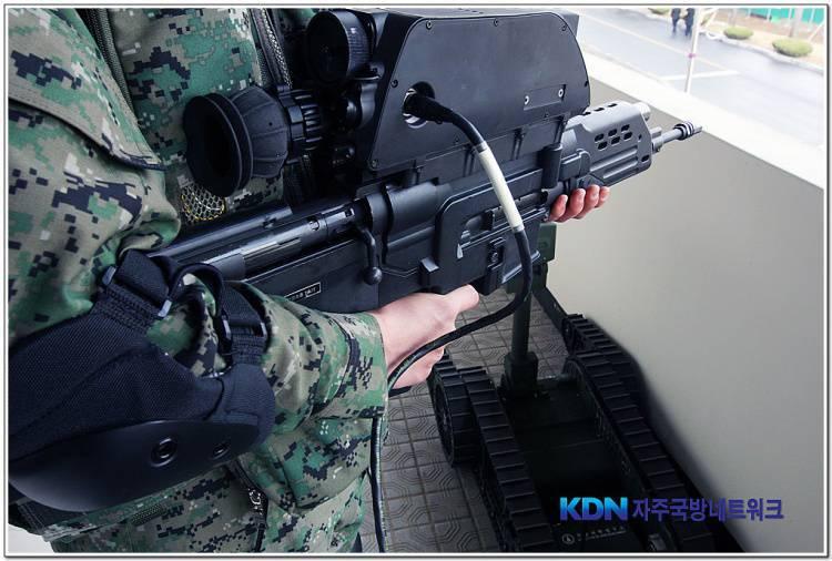 Daewoo K11. Why did the modern military need a double-barreled gun?