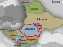 L'expansion de l'automne de la Roumanie à l'est