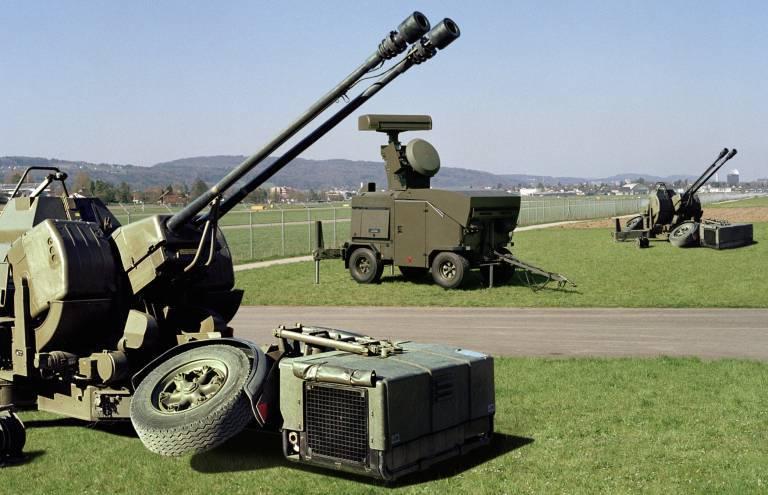 La Suisse offre à l'Ukraine son système de défense aérienne