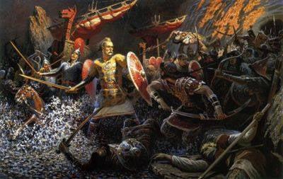 Подвиги Русского Бога Войны - Святослава