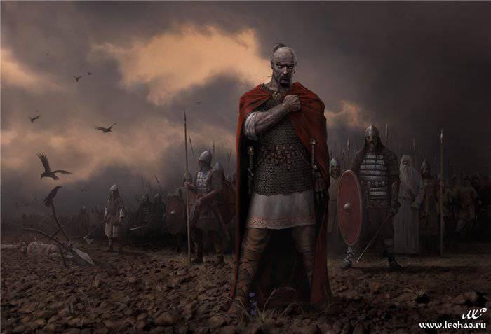 Rus Savaş Tanrısı'nın Özellikleri - Svyatoslav