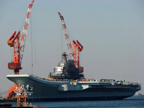 China is preparing a carrier fleet