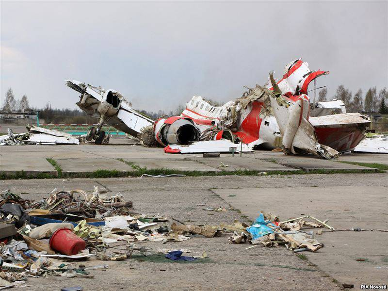 Polish Commission admitted the blame of their pilots in the crash of the presidential plane near Smolensk