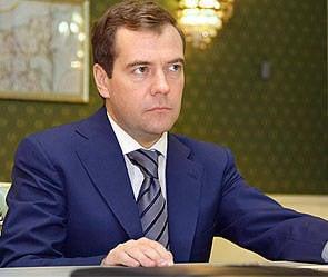 Medvedev criou um serviço de comandante nas forças armadas