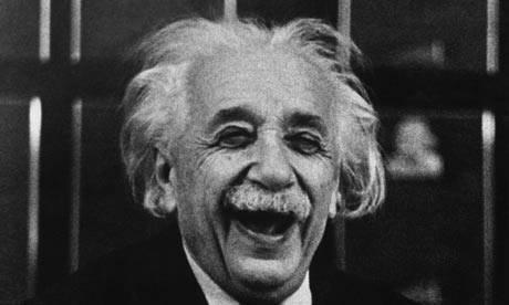 A. o sorriso de Einstein