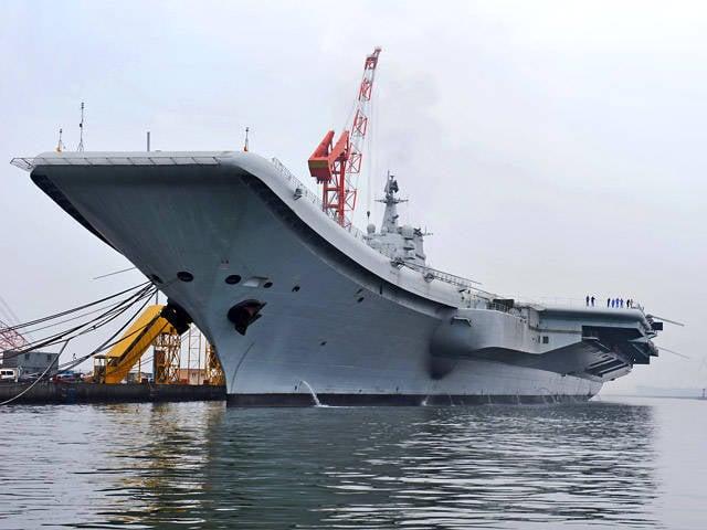 在美国问题的背景下,中国海军力量的增长导致了APR力量平衡的变化