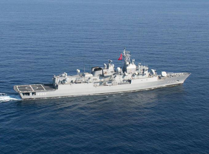 Naval forces in the Black Sea theater