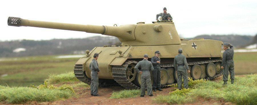 Супертяжёлый танк Panzerkampfwagen VII Lowe (Лев)