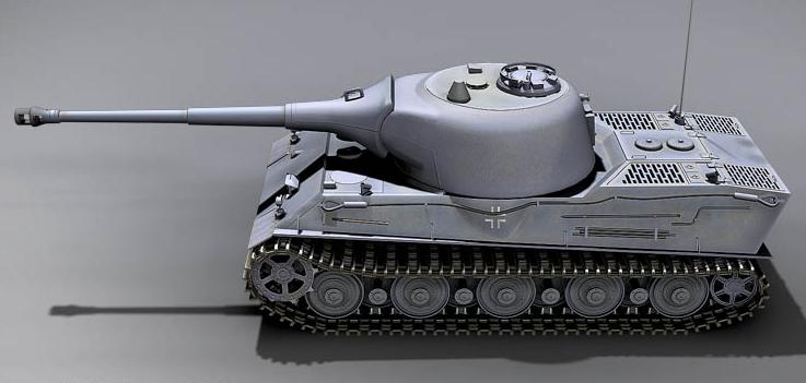 重量级Panzerkampfwagen VII Lowe坦克(狮子座)