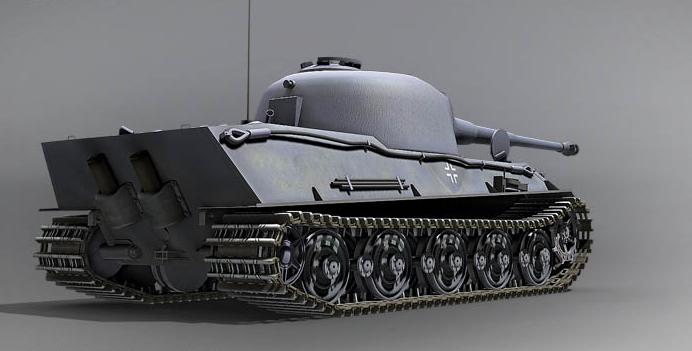 Panzerkampfwagen VII Lowe.