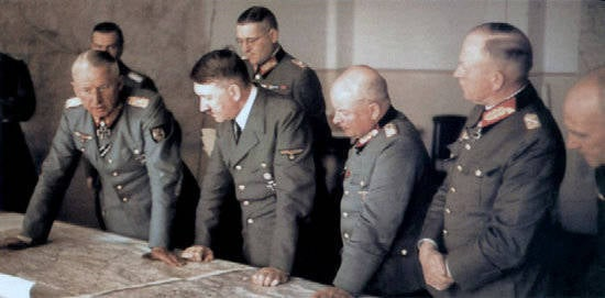 About stupid Hitler and smart generals