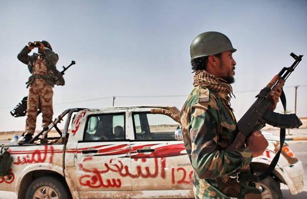 利比亚反政府武装分裂