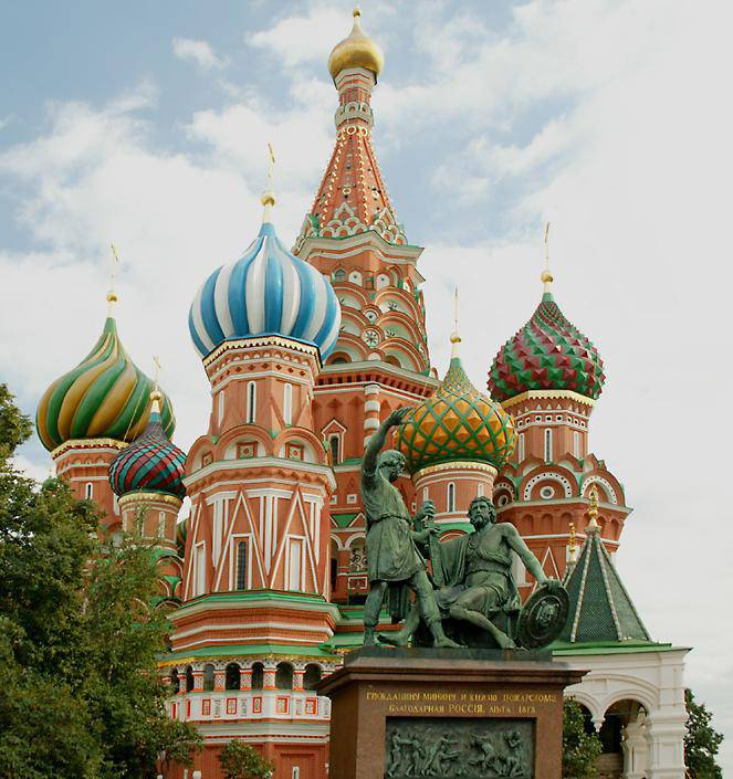 St. Basil's Cathedral - the symbol of Russia