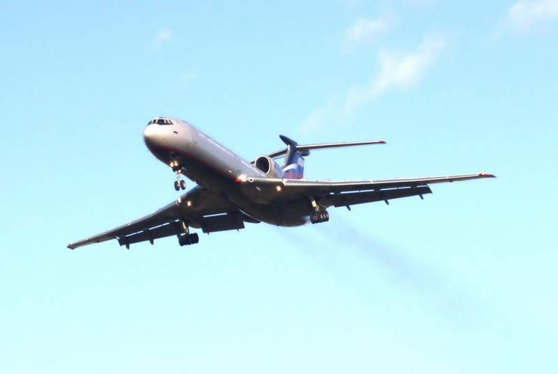 陆军将使用Tu-134和Tu-154进行另一次10-15年