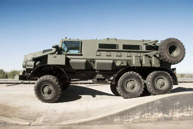 South African military equipment based on Russian technology