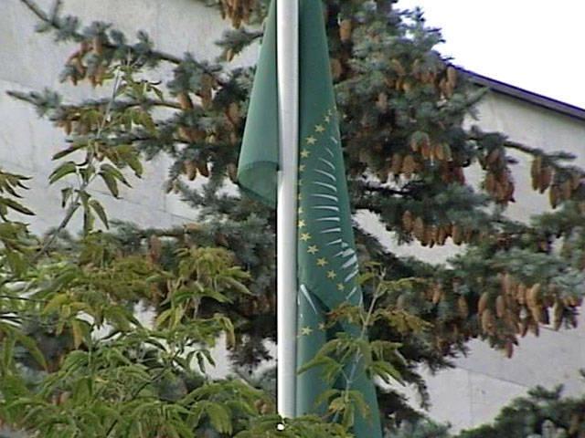 черно зеленый флаг