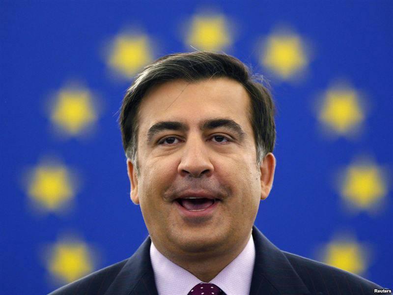 """Peace Misha, ou Saakashvili va """"avec le monde"""" ..."""