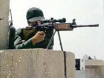 以色列狙击手命令不要杀死示威者