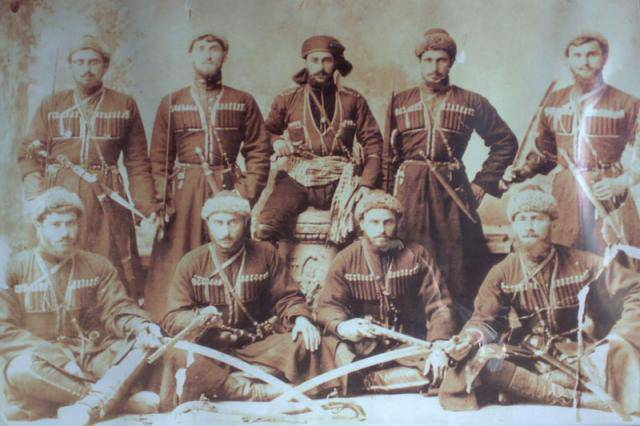 Symbols of valor in the Caucasus in the XIX century