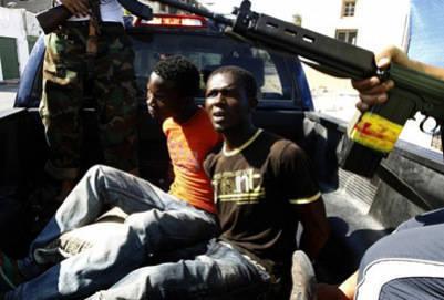 African Union blamed rebels in Libya for black massacres