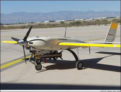 UAVs equip smart bombs