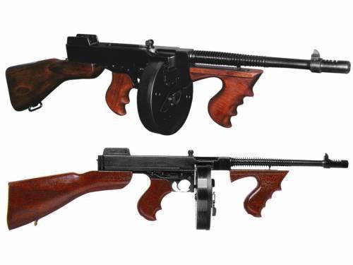 Thompson Submachine Gun - La leyenda de América