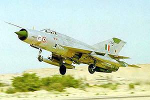 印度空军在6年度失去了46战斗机