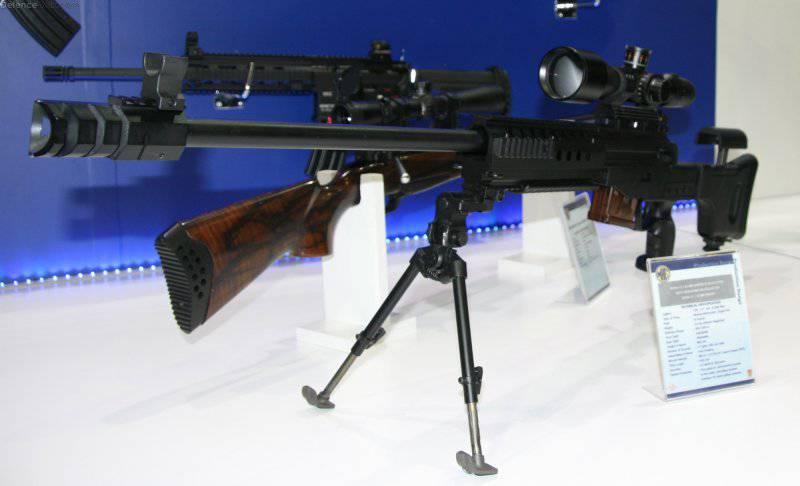Снайперская винтовка 7.62 mm JNG 90 Bora (Турция)
