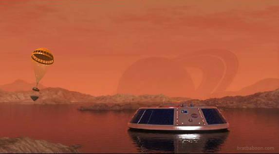 """Titan denizlerinde """"Zaman"""" açılacak"""