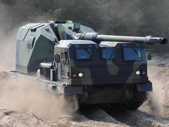 可怕的名字Donar:一种新的自行榴弹炮扫除了使用火炮的所有原则