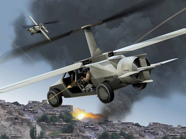 Flying cars in the service in the US Army