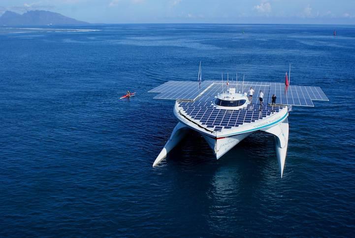 Le plus grand bateau solaire au monde