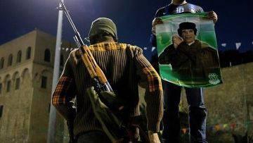 19 aurait été arrêté à Tripoli par des tireurs d'élite ukrainiens, Gaddafi