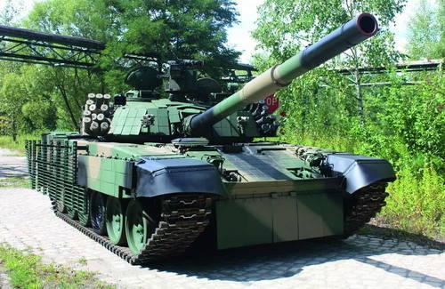 新波兰改造T-72