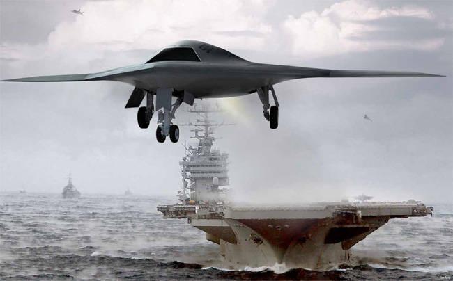 X-47会改变美国舰载机的外观吗?