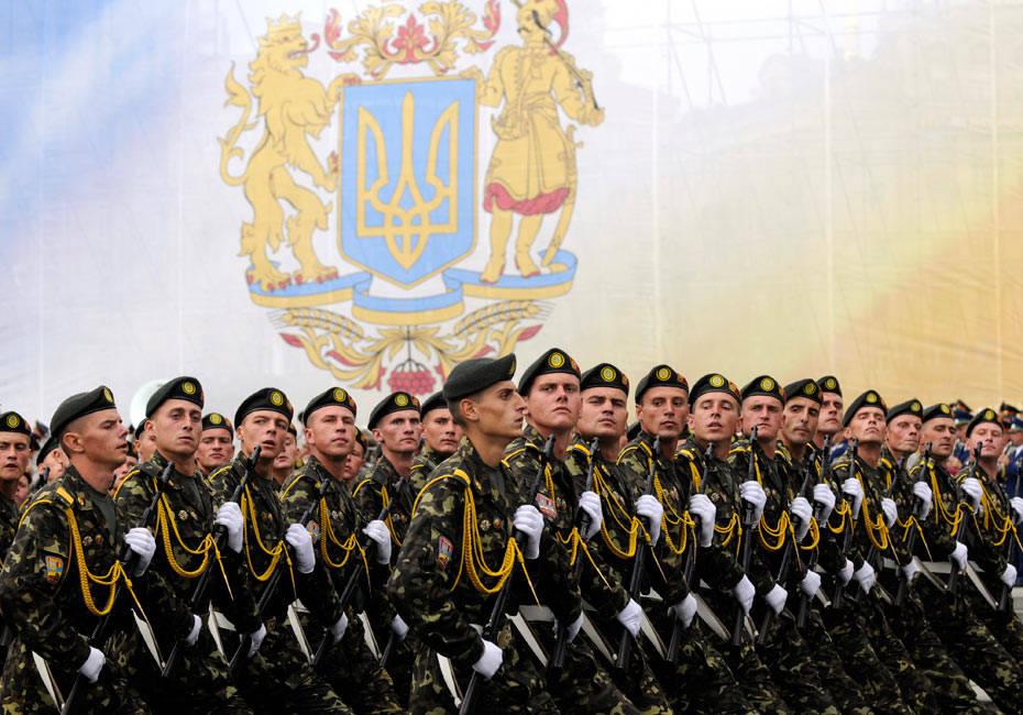 Украинская армия прошлый век и