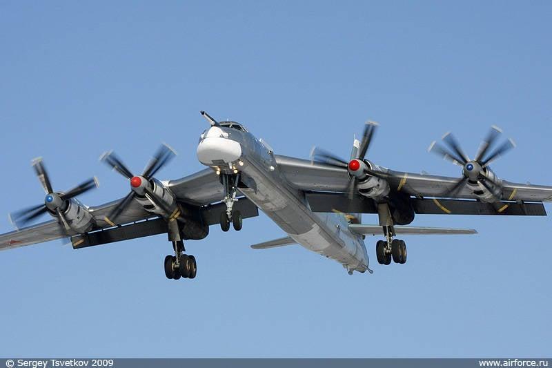 Tu-95在飞越太平洋时没有违反规定 - 俄罗斯外交部