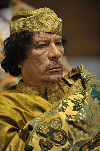 О шансе Каддафи на победу