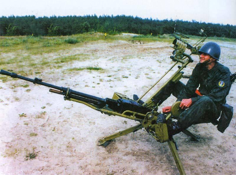 重機関銃NSV NSVT 12.7「ロック」
