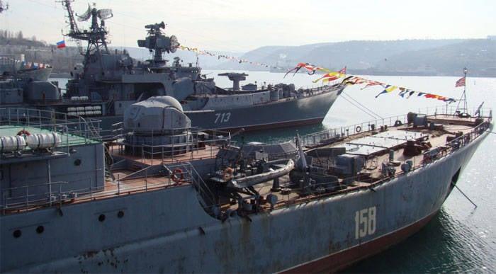 Russian Black Sea Fleet Hostage to Gas Scandal