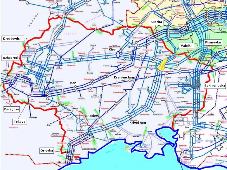 Rusya-Ukrayna gaz savaşı devam ediyor: Kiev, Rusya ve AB'yi gaz iletim sistemini sökmekle tehdit ediyor