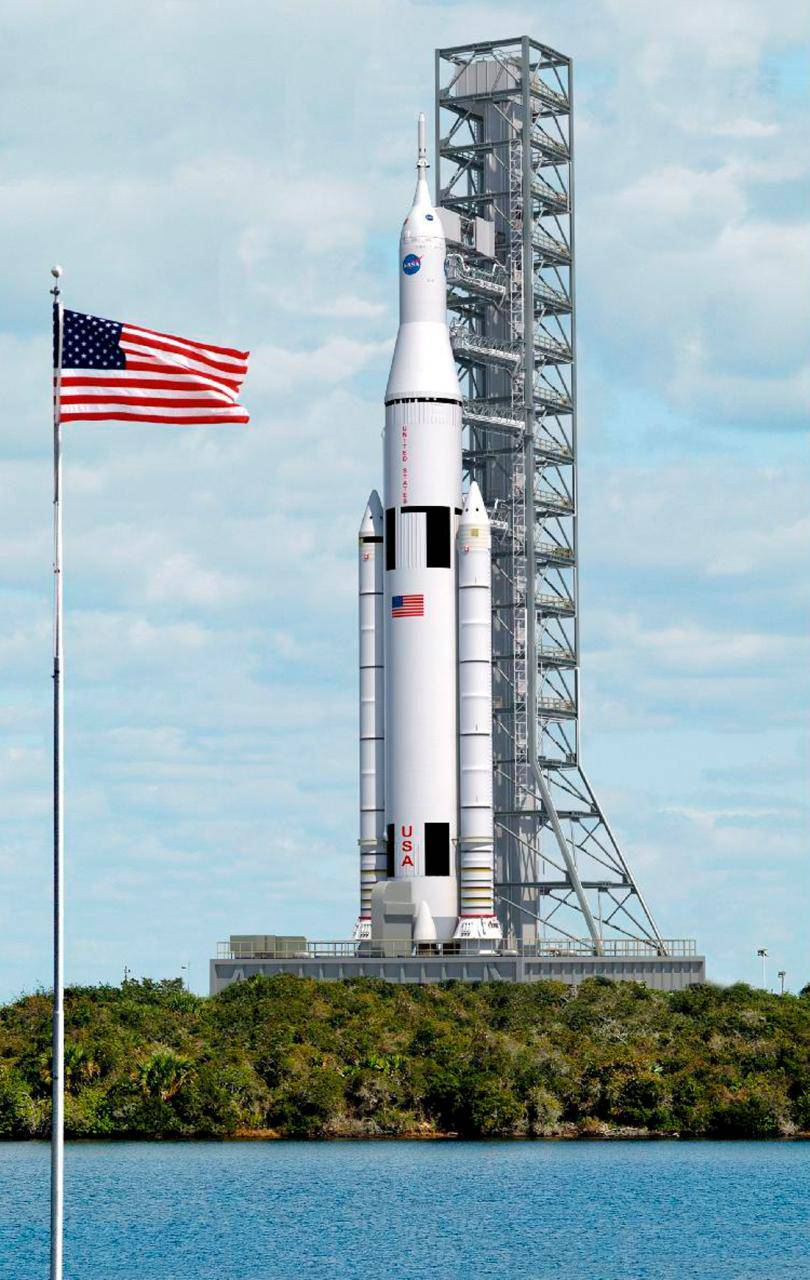 NASA is the most powerful rocket in the world.