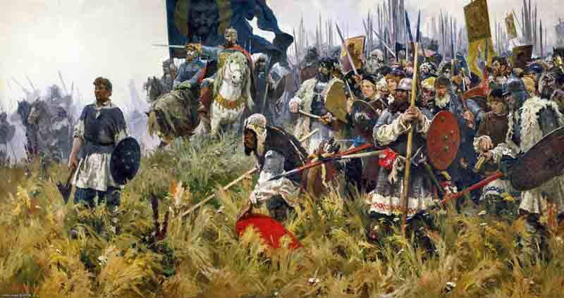 ロシアの軍事栄光の日 - クリコヴォの戦い1380