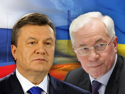Yanukovych and Azarov accused of fomenting a war between Ukraine and Russia