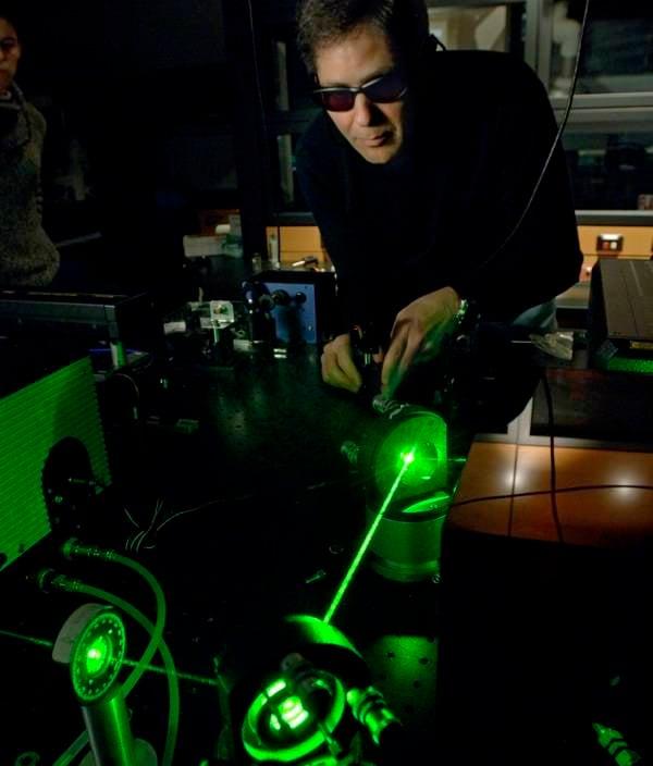 激光会发现爆炸物