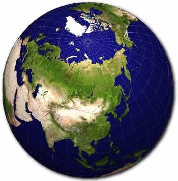 这个星球需要轴莫斯科 - 德黑兰 - 德里 - 北京