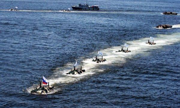 Quel dommage que la marine russe ne le sache pas. Exercices fantastiques au Kamchatka
