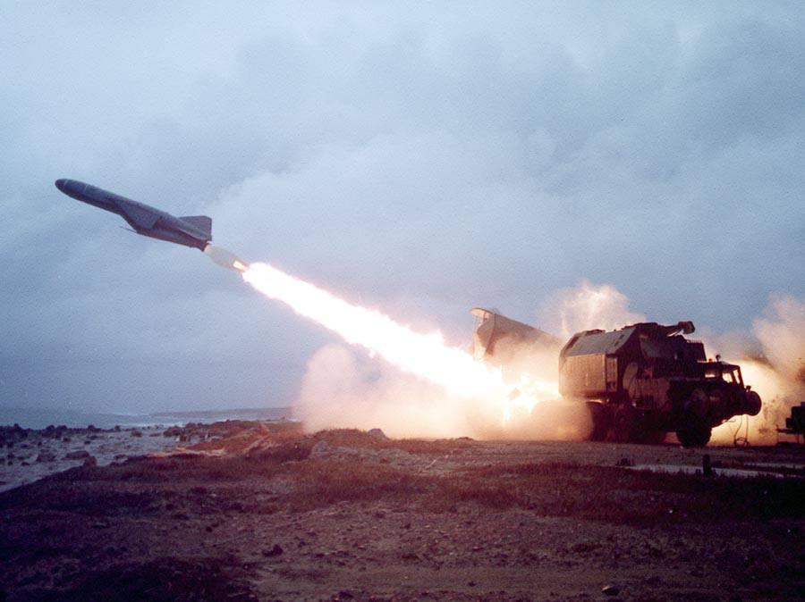Sistemas de misiles anti-barco. Parte uno En el suelo