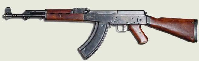 Kalachnikov fusil