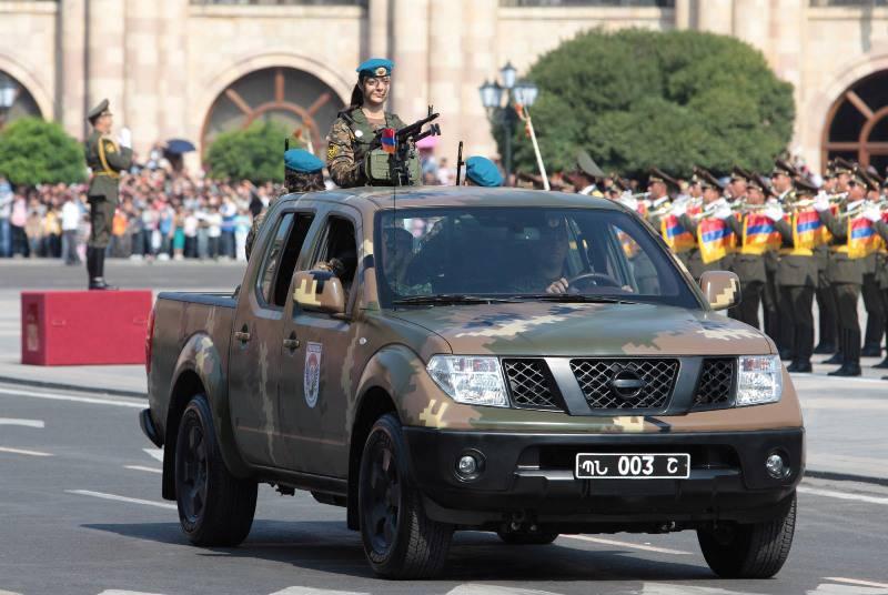 20 лет Независимой Армении – военный парад